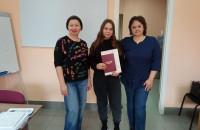 Поздравляем наших выпускниц курса